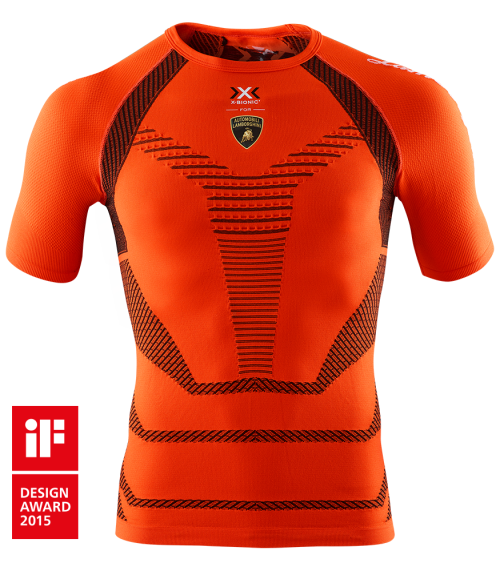 X-BIONIC® for Automobili Lamborghini Running Shirt